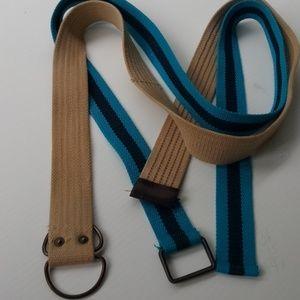 Canvas belts 2